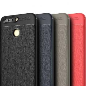 Läder mönstrat TPU skal Huawei Honor 8 Pro mobilskal CaseOnline