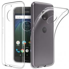 Motorola Moto G5S Plus XT1805 Silikon skal Transparent mobilskal