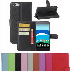 Mobilplånbok 3-kort ZTE Blade V770