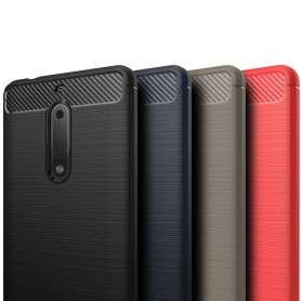 Borstat silikon TPU skal Nokia 5 mobilskal