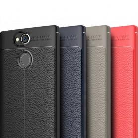 Läder mönstrat TPU skal Sony Xperia XA2 Ultra mobilskal