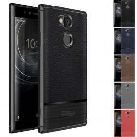 Rugged Armor TPU skal Sony Xperia L2 silikonskal mobilskal