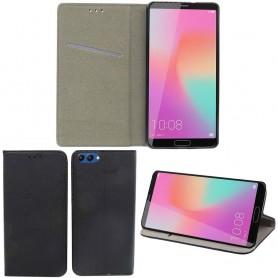 Moozy Smart Magnet FlipCase Huawei Honor View 10 mobilskal fodral skydd