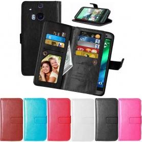 Dubbelflip Flexi HTC ONE M8 mobilfodral mobilskal caseonline.se
