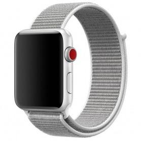 Apple Watch Series 38mm Nylon Armband Seashell CaseOnline.se