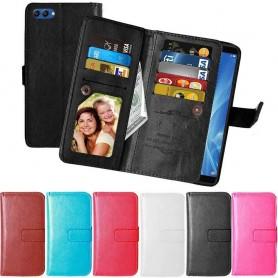 Mobilplånbok Dubbelflip Flexi Huawei Honor View 10 BKL-L29 mobilskal