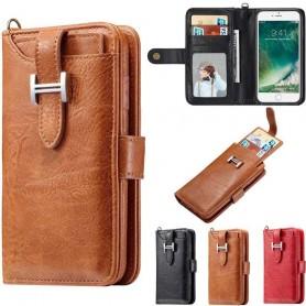 Multiplånbok 3i1 9-kort Apple iPhone 7+ / 8+ mobilfodral mobilskal