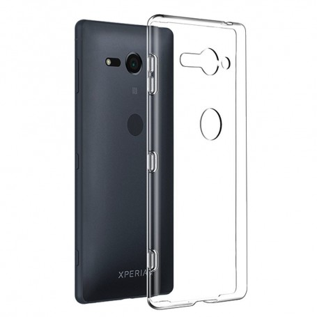 Sony Xperia XZ2 Compact Silikon skal Transparent mobilskal