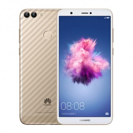 Kolfiber Skin Skyddsplast Huawei P Smart FIG-L21 mobilskydd CaseOnline