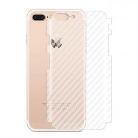 Kolfiber Skin Skyddsplast Apple iPhone 8 Plus mobilskydd