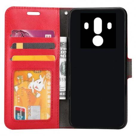Mobilplånbok 3-kort Huawei Mate 10 Pro mobilskal fodral skydd