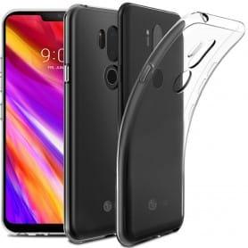 LG G7 ThinQ Silikon skal Transparent mobilskal