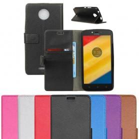 Mobilplånbok Motorola Moto C plus skal skydd CaseOnline.se