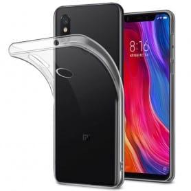 Xiaomi Mi 8 Silikon skal Transparent mobilskal