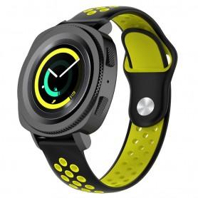 EBN Sport Armband Samsung Gear Sport - svart/gul