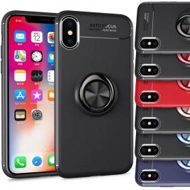 Slim Ring Case Apple iPhone X mobilskal selfiering