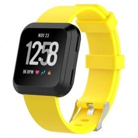 Sport Armband till Fitbit Versa - Gul klock armband