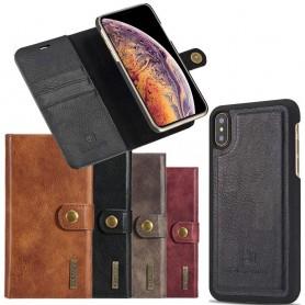 Mobilplånbok Magnetisk DG-Ming Apple iPhone XS Max avtagbart skal mobil skydd