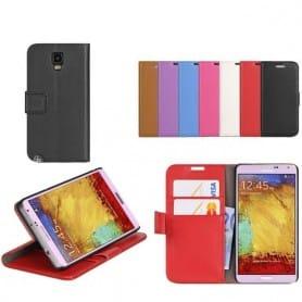 Mobilskal plånboksfodral Samsung Galaxy Note 3 SM-N9005 CaseOnline