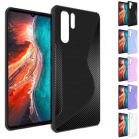 S Line silikon skal Huawei P30 Pro mobilskal fodral skydd caseonline