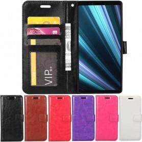 Mobilplånbok 3-kort Sony Xperia 1 mobilskal väska fodral caseonline
