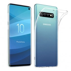 Mobilskal Silikon skal Transparent Samsung Galaxy S10 (SM-G973F)