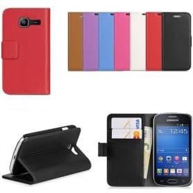 Samsung Galaxy Star Pro mobilskal plånbok fodral