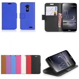 Mobilplånbok 2-kort LG G Flex mobilskal fodral väska