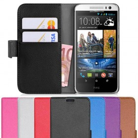 Phonecase wallet 2-card HTC...