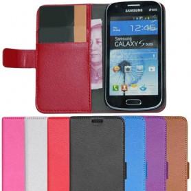 Samsung Galaxy Trend mobilplånbok fodral skydd