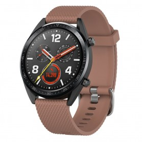 Sport Armband Huawei Watch GT/Magic/TicWatch Pro - Brun