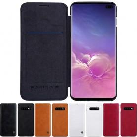 Nillkin Qin FlipCover Samsung Galaxy S10 Plus (SM-G975F) mobilskal caseonline