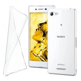 Sony Xperia E3 Silikon Transparent