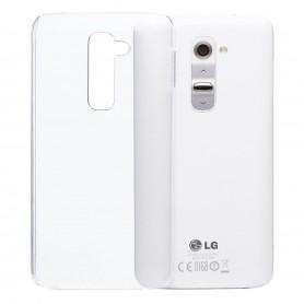 LG G2 Silikon Transparent