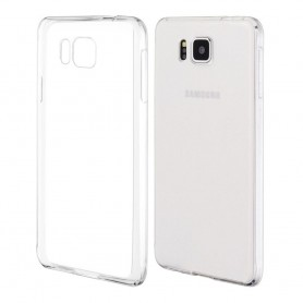 Galaxy Alpha silikon skal transparent