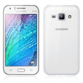 Galaxy J1 silikon skal transparent