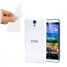 HTC Desire 620 silikon skal transparent
