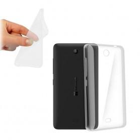 Microsoft Lumia 430 silikon skal transparent
