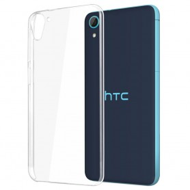 HTC Desire 826 silikon skal transparent