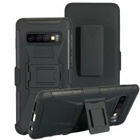Stötsäkert skal med hölster 3i1 Samsung Galaxy S10 (SM-G973F)