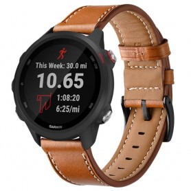 Lærarmbånd GARMIN Forerunner 245/245 Music - Brown