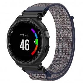 Nylon Armband Garmin Forerunner 220/230/235/620/630/735XT - Blå