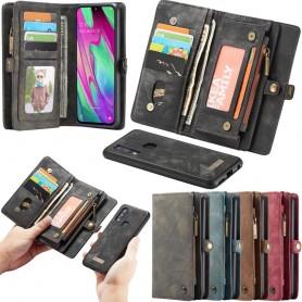 Multiplånbok CaseMe 11 kort Samsung Galaxy A40 (AM-A405F)