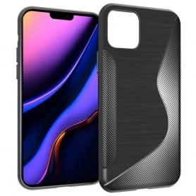 "Mobilskal S-Line silikon skal Apple iPhone 6.5"" (2019) - Svart"