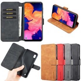 DG-Ming mobilplånbok 3-kort Samsung Galaxy A10 (SM-A105F) mobilskal