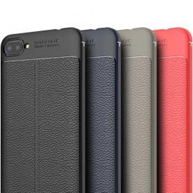Leather Pattern TPU Case...