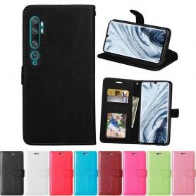 Mobilplånbok 3-kort Xiaomi Mi Note 10 Pro