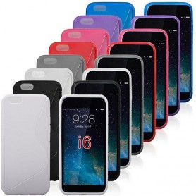 S Line Silikon skal iPhone 6 Plus