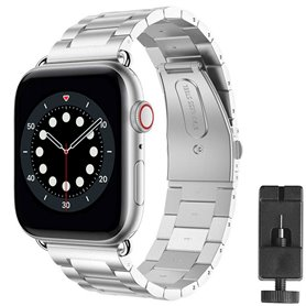 Armband Stainless Steel Apple Watch 6 (44mm) - Silver