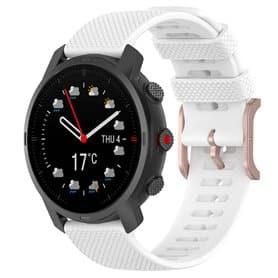Sport Armband Silicone Polar Grit X - White